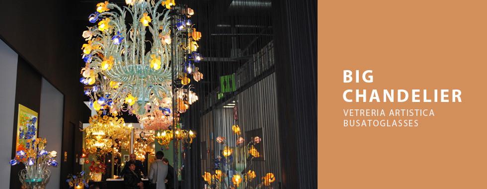 Vetreria Busato ambientazioni big chandelier
