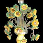 Vetreria Busato Glasses - lampadario girasoli impressionismo