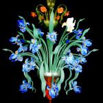Vetreria Busato Glasses - lampadario Iris Van Gogh