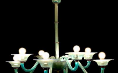 Vetreria Busato Glasses - Acquamarina moderno