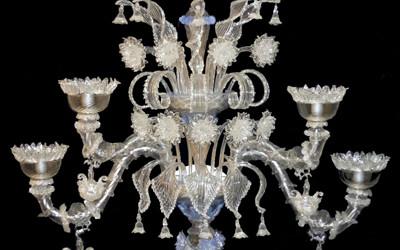 Vetreria Busato Glasses - Lampadario applique Rezzonico