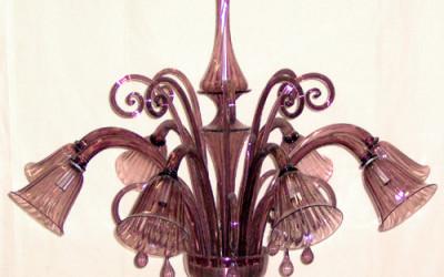 Vetreria Busato Glasses - Lampadario campane