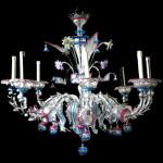 Glassware Busato Glasses - Chandelier Rezzonico Casanova