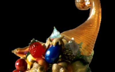 Vetreria Busato Glasses - cornucopia Murano