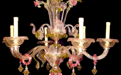 Vetreria Busato Glasses - Lampadario Ducale veneziani