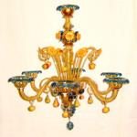 Vetreria Busato Glasses - Lampadario Fruttini veneziani