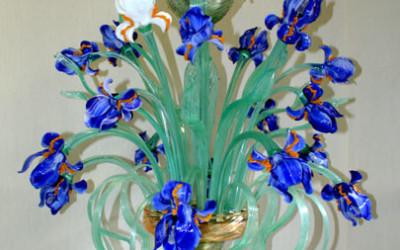 Vetreria Busato Glasses - lampadario Iris