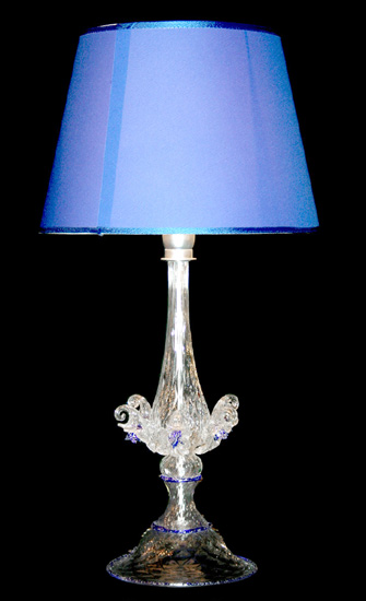Murano Table Lamps Collection. Vetreria Busato Glasses   Lampada Da Tavolo  Con Infinity