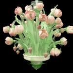 Vetreria Busato Glasses - Lampadario tulipani Renoir