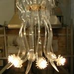 Vetreria Busato Glasses - medusa fiori di luce