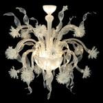 Vetreria Busato Glasses - Lampadario nastri di cristallo
