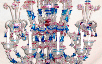 Vetreria Busato Glasses - Lampadario Rezzonico Piovra