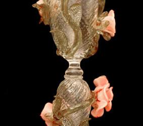 Vetreria Busato Glasses - Calice Tipetto Iris Veneziani