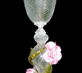Vetreria Busato Glasses - Vaso tipetto rosa