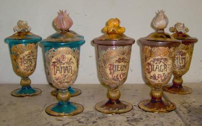 Vetreria Busato Glasses - vasi farmacia Murano