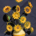 Vetreria Busato Glasses Vaso di girasoli