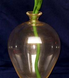 Vetreria Busato Glasses - Vaso veronese con Iris bianco