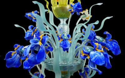 Lampadario Iris Van Gogh Lite