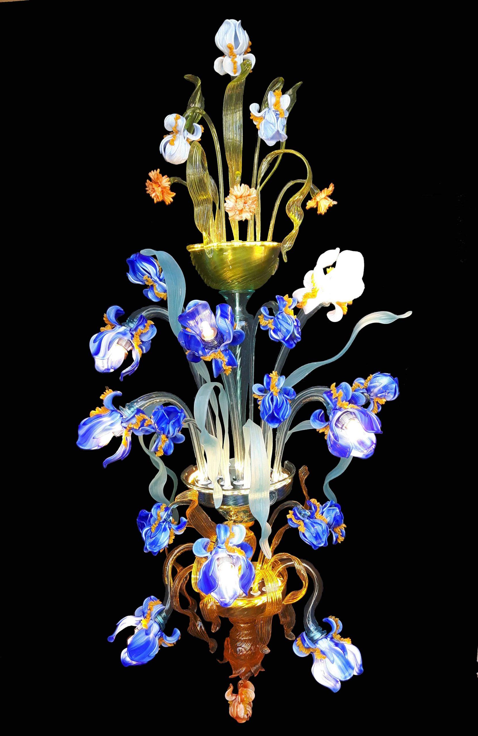 Applique Iris Van Gogh 3 Piani