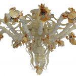 Plafoniera Iris Ambrati