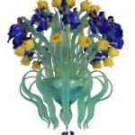 Lampadario Iris e Tulipani
