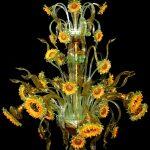 Lampadario girasoli Van Gogh