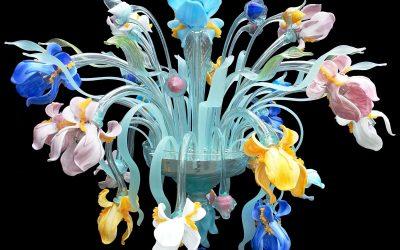 Plafoniera Iris Multicolor