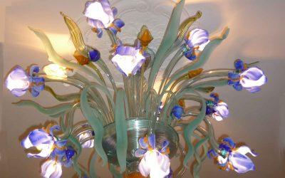 Plafoniera Iris Van Gogh