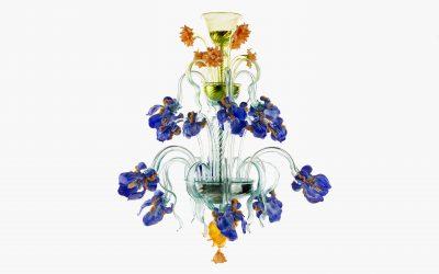 Lampadario Iris Lite 9 luci