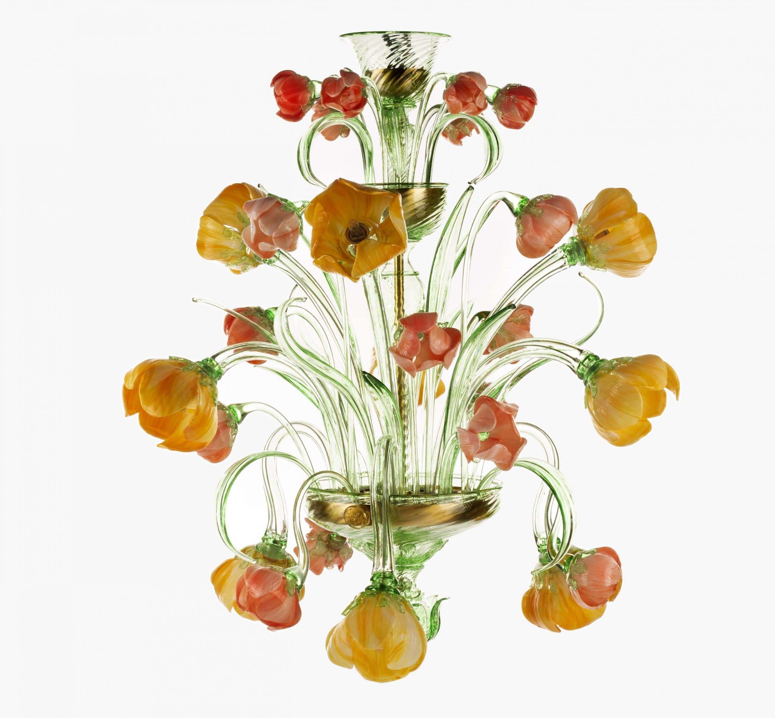 Lampadario Tulipani Renoir Lite
