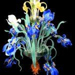 Lampadario Iris Van Gogh