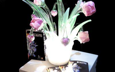 Vaso lampada Tulipani Renoir Lite