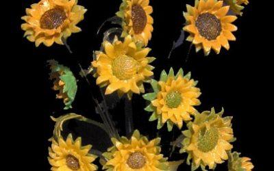 Vaso lampada Girasoli Van Gogh