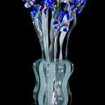 Vaso lampada Mazzo di Iris Van Gogh