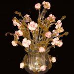 Vaso lampada rose