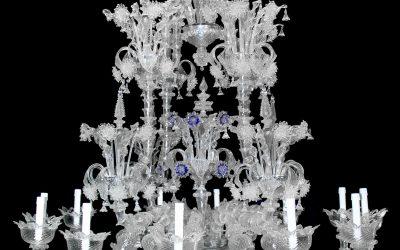Lampadario Rezzonico Crystal Diamond